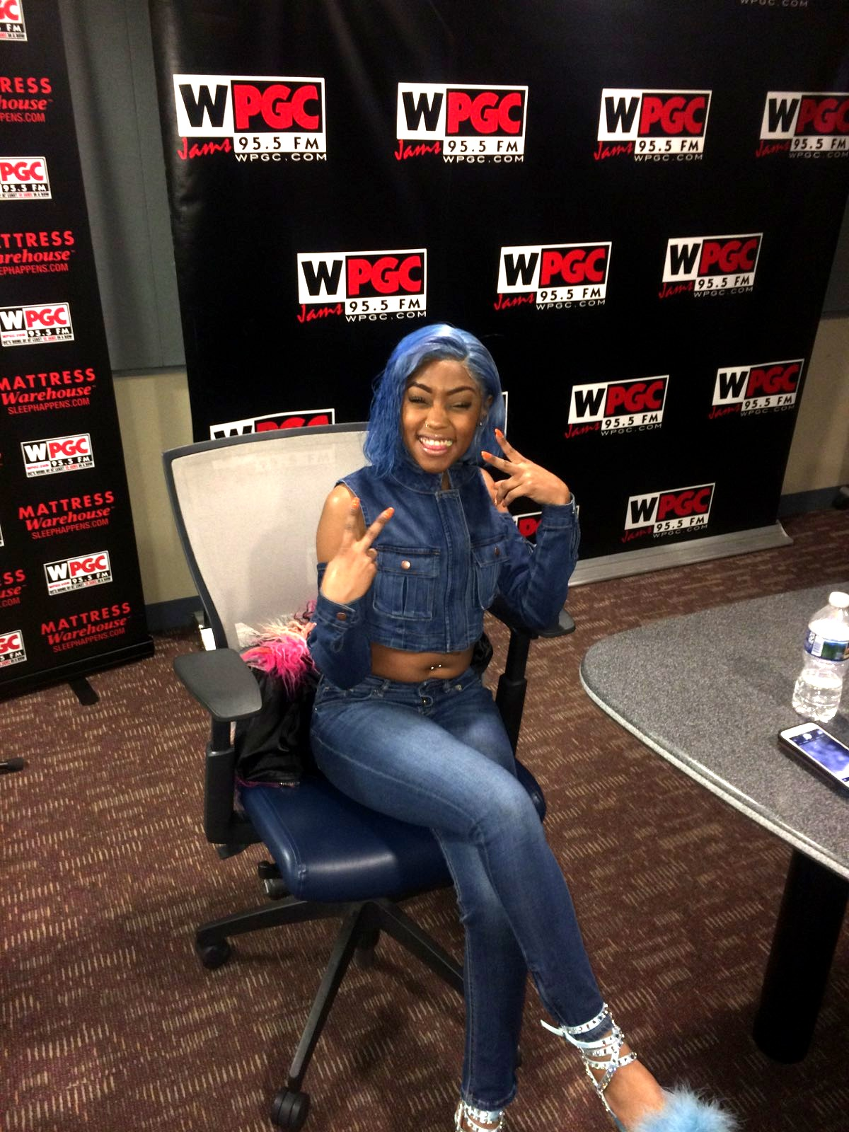 WPGC 95.5 Interview