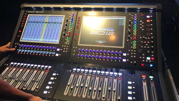 Digico Training at Miami 2017.