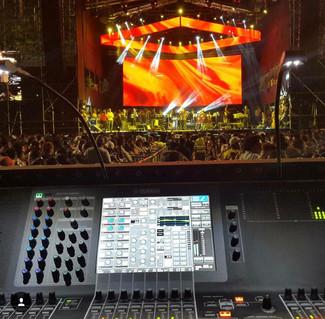 Concert / Yamaha CL5 / Sound Design & Calibration by Jhander Orihuela.