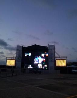 Concert at Higuerote / Venezuela.