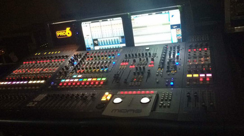Midas Pro 6 Audio Mixing System.