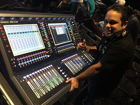 Digico SD12 Console.