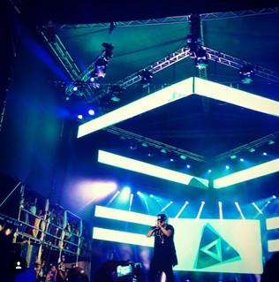 Yandel Live Concert in Guatire / Venezuela.