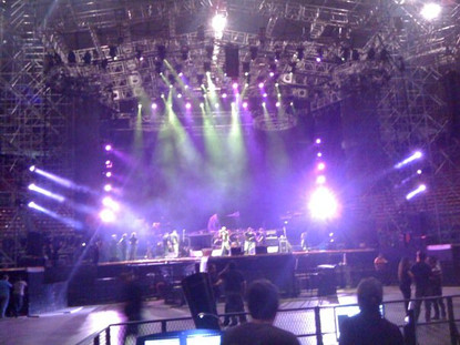 Sound Check Aerosmith / Caracas / Venezuela.