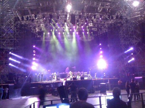 Sound Check Aerosmith / Caracas / Venezuela.