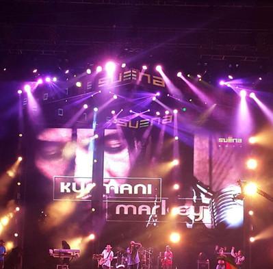 "Ky-mani Marley at ""Suena Caracas"" Music Festival."