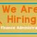 New Job! Finance Administrator