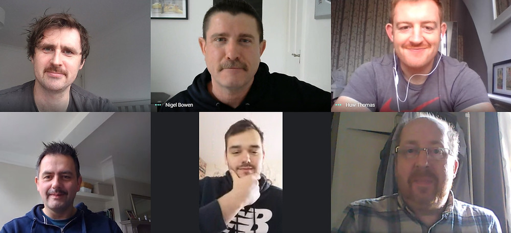 The FCHA boys in the first week of Movember.