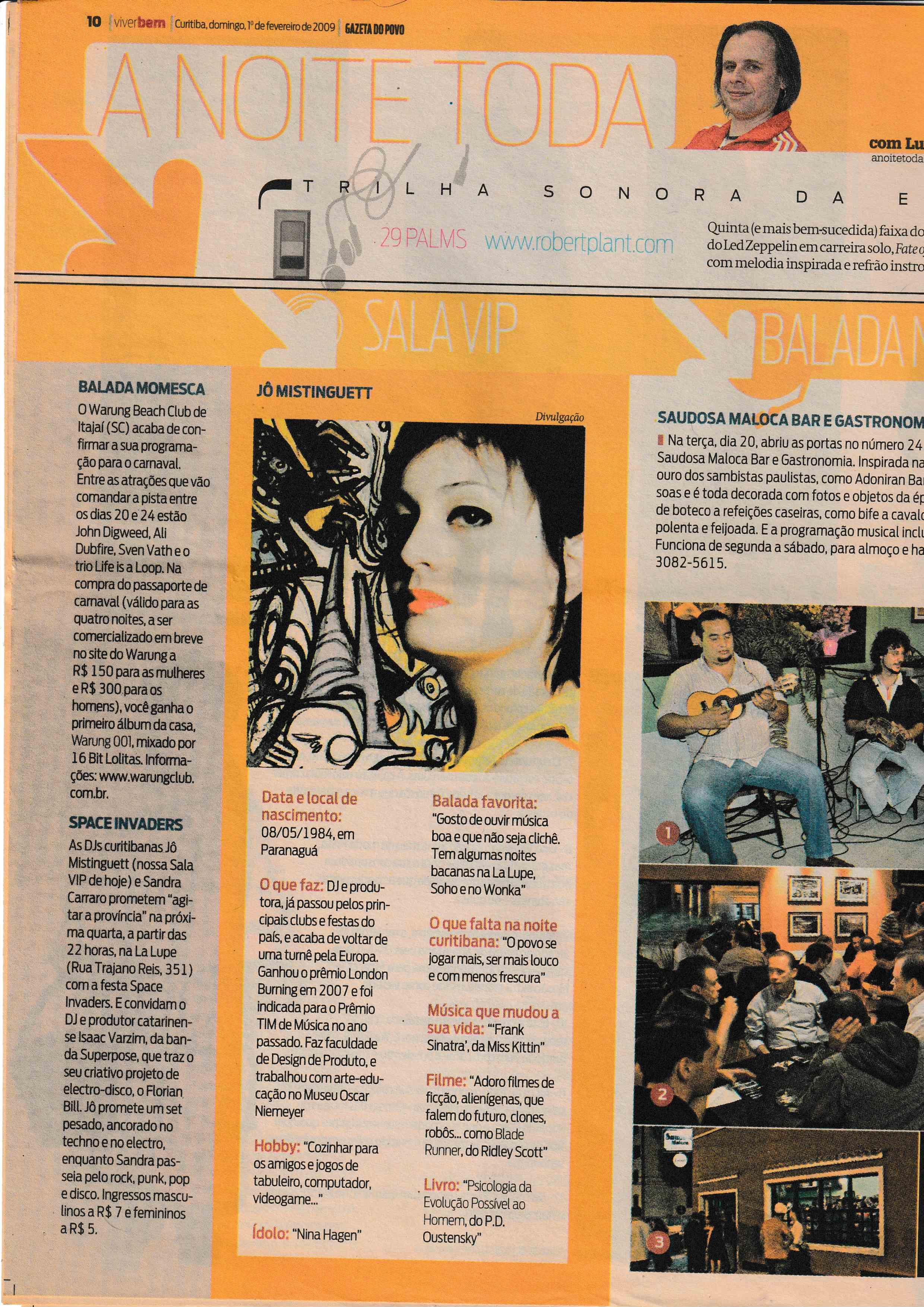 Gazeta do Povo 2009