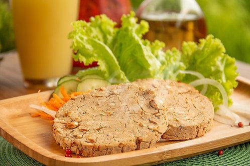 Hambúrguer de Feijão Branco com cebola caramelizada 380 g - Emb. c/ 04 un.