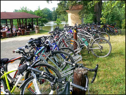 trebon biciklizés