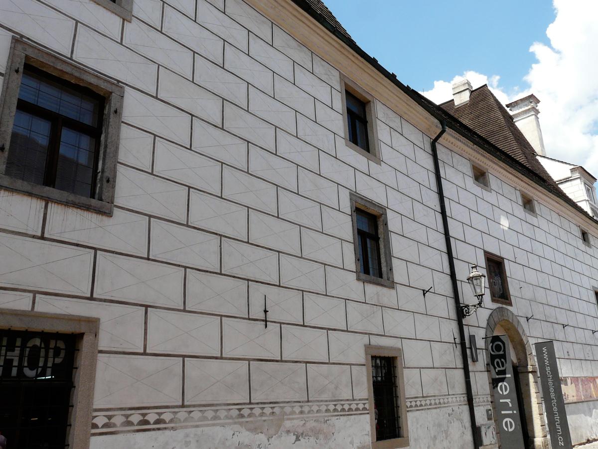 Egon Schiele art center, old brewery