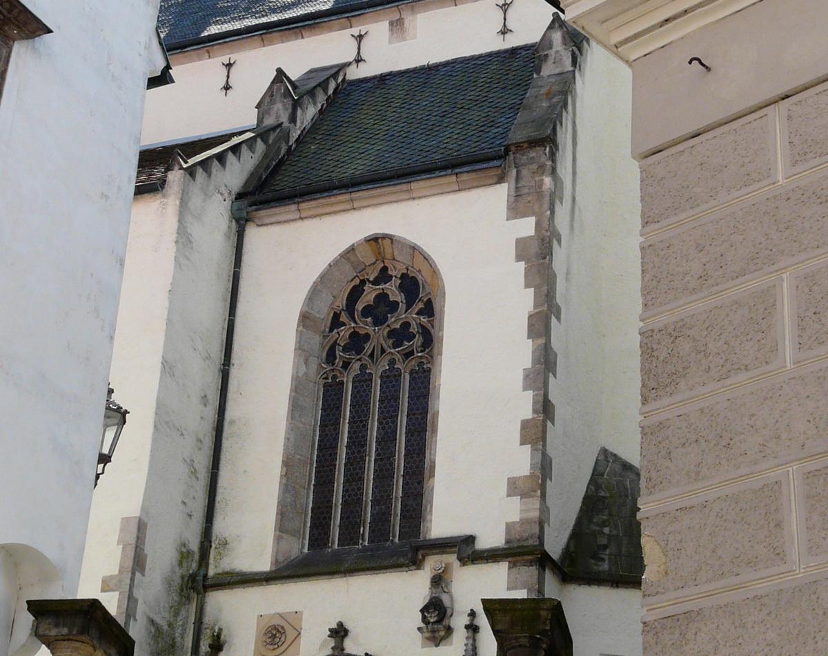 St. Vit church in Cesky Krumlov
