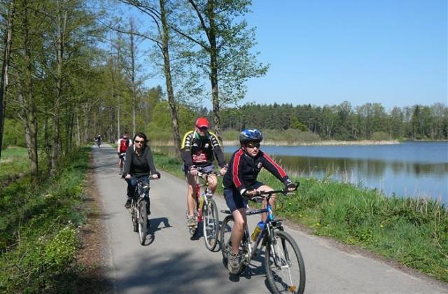 trebonsko biciklizés