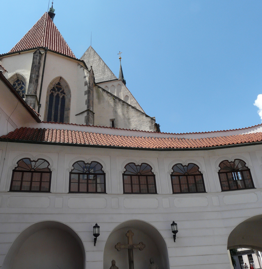 Prelate's house and St. Vit church