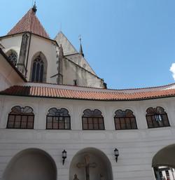 Prelate's house and St. Vit church
