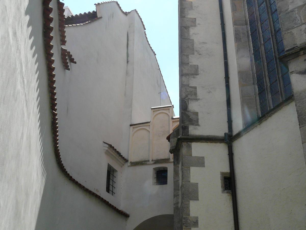 Cesky Krumlov, St. Vit church