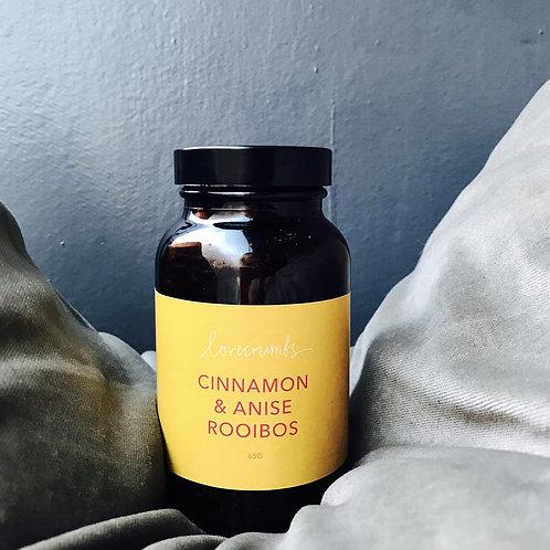 cinnamon & anise rooibos tea