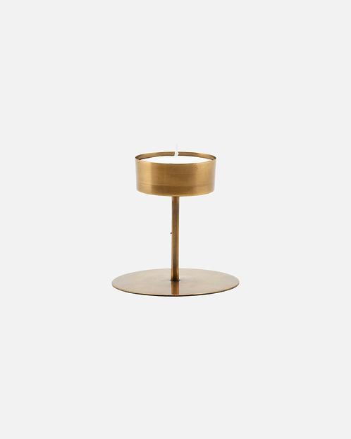 Antique Brass Tealight Holder