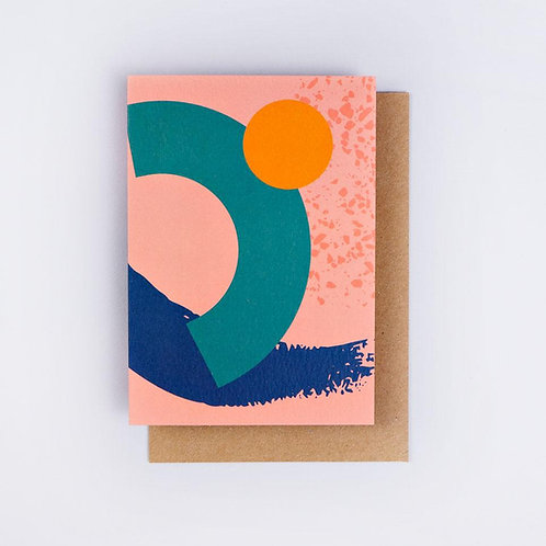 not-so-plain plain card