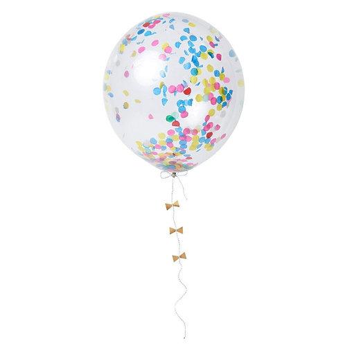 bright confetti balloon set