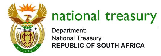 RSA National Treasury Logo
