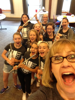 Whole Flutist MS Selfie 2016