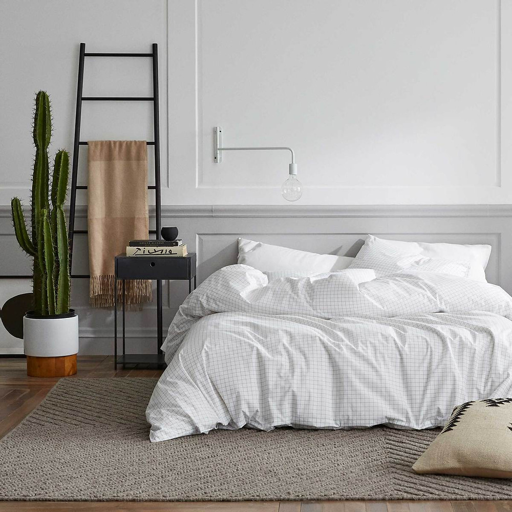 Percale bedding from Brooklinen