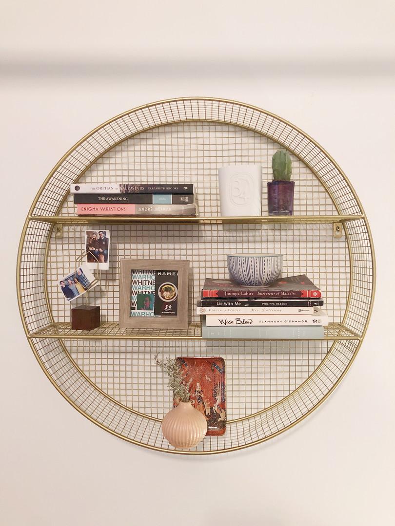 Styled Shelf