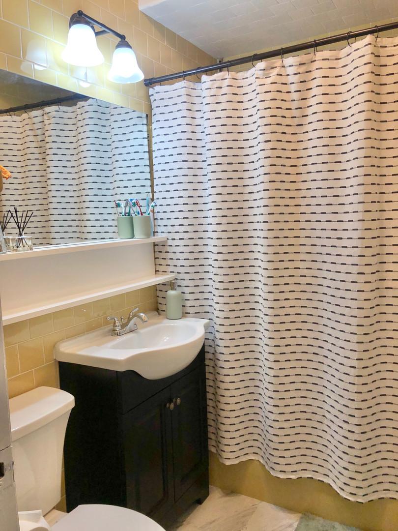 Updated Rental Bathroom