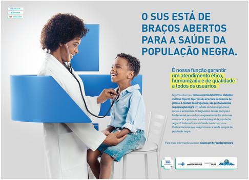 Cartaz 2 - Campanha Saúde da População Negra