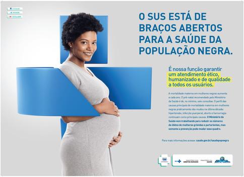 Cartaz 3 - Campanha Saúde da População Negra