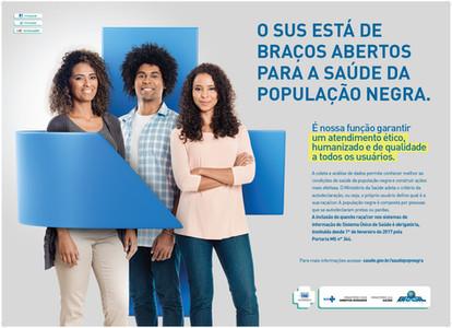 Cartaz 4 - Campanha Saúde da População Negra