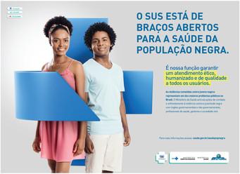 Cartaz 1 - Campanha Saúde da População Negra