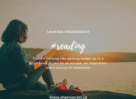 #reading (Unwind Wednesday)