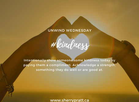 #kindness (Unwind Wednesday)