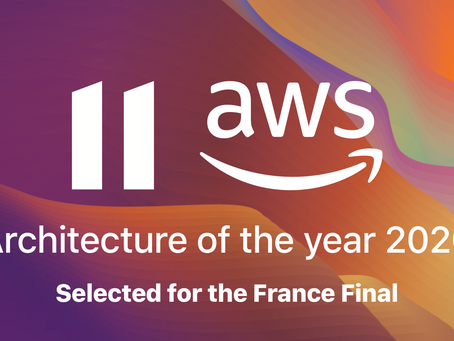 Eleven Life is selected among the 8 French finalists of Amazon (AWS) Architecture Challenge 2020