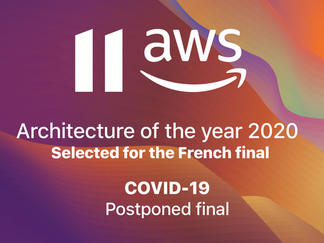 Amazon Web Services Startup Architecture of the Year 2020 Final Postponed