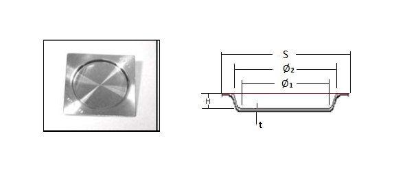 Schoeps-Autofluxer-Vulcan cihazları için Platin kalıplar