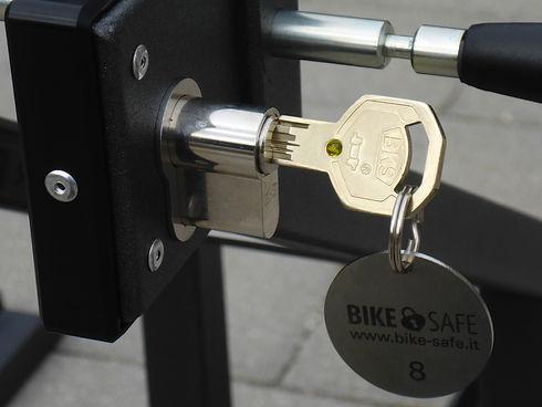 Bike Safe Fahrradständer Schloss mit Sch