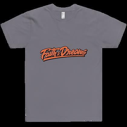 Faith & Dreams Grey Signature Tee
