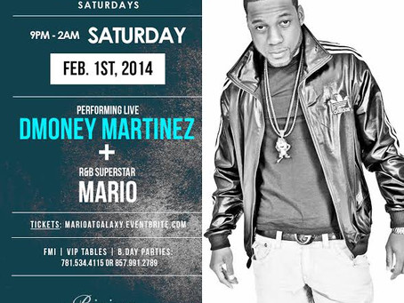 Dmoney Martinez Live! Feb 1st