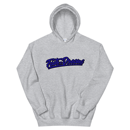 Faith and Dreams Grey Signature Hoodie