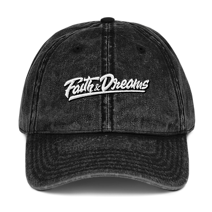 Faith &  Dreams Signature Dad Hat