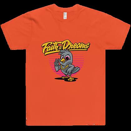 Faith & Dreams Orange Yellow Dove Tee