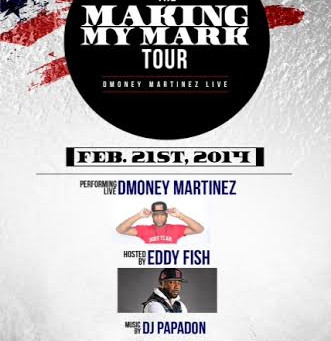 The Making My Mark Tour Feb 21st