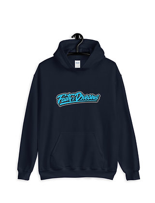 Faith and Dreams Signature Blue Hoodie