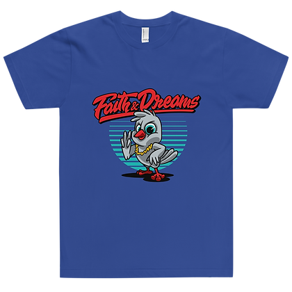 Faith & Dreams Blue Dove tee