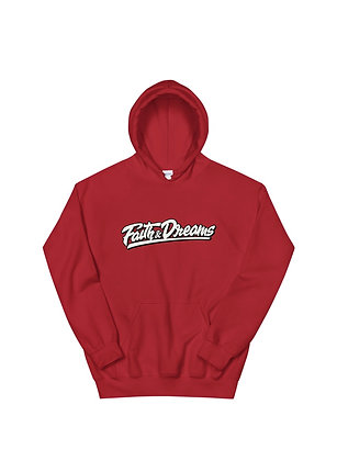 Faith and Dreams Signature Red Hoodie