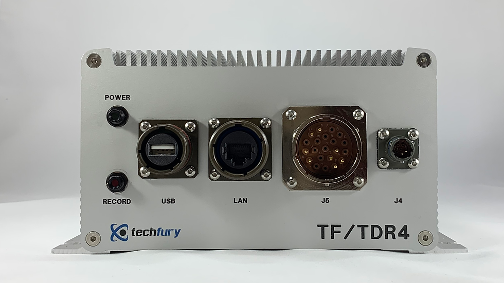 TF-TDR4-SD-MIL: Four Channel Analog (CVBS / RS170) DVR